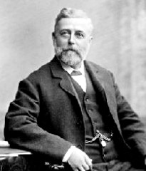 Wikimedia Commons image of Thomas Crapper, who did not invent the flush toilet.