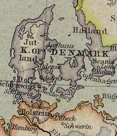 The region around Lübeck in 1560.