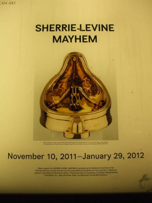 Sherrie Levine's 'Mayhem' exhibit.