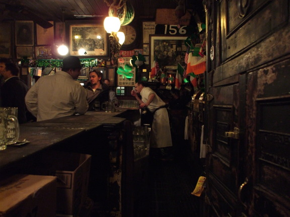 McSorley's Ale House, in the East Village in New York.