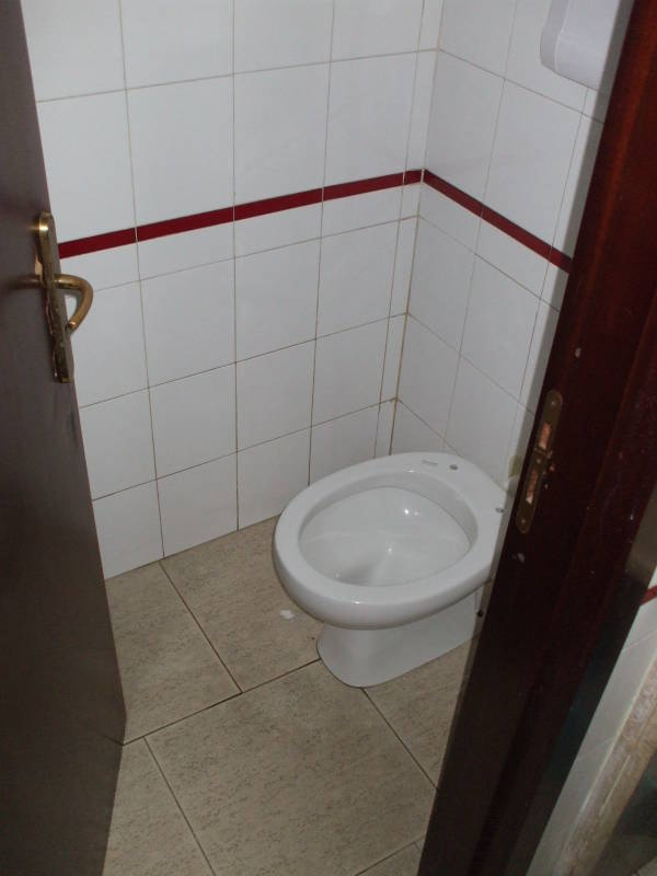 Toilet in a cafe outside Paestum, Italy.