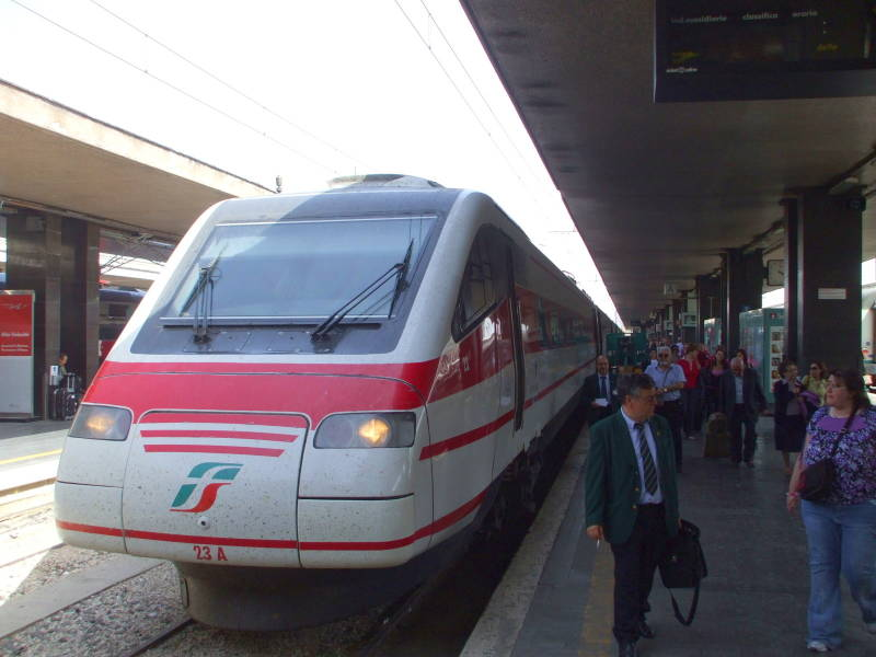 Italian high-speed train.