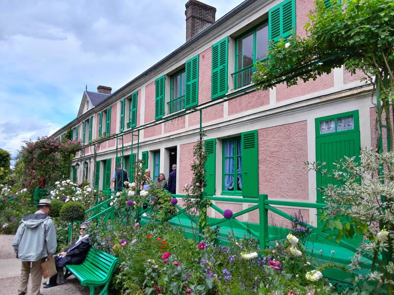 Claude Monet's home at Giverny, in upper Normandy, in France.