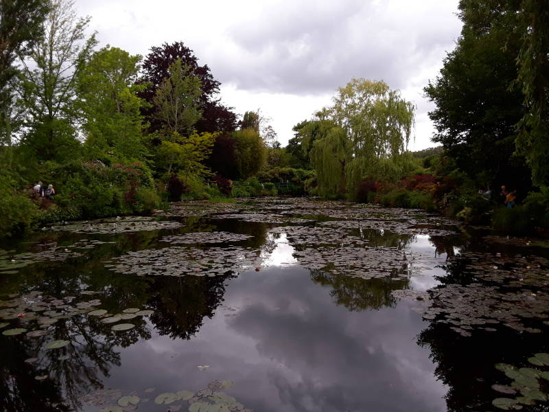 Claude Monet's water garden, at Giverny.
