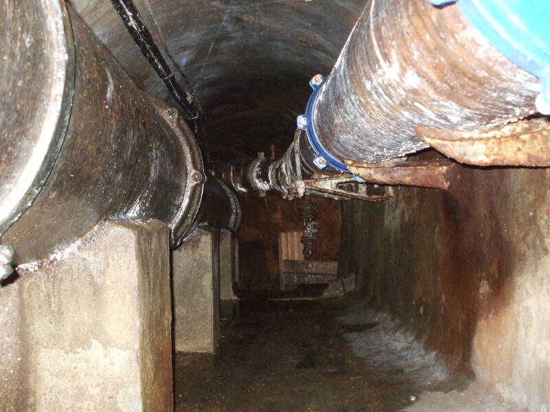 Drain Pipe stock photo. Image of opposite, greenpeace ...  Inside Sewer Water