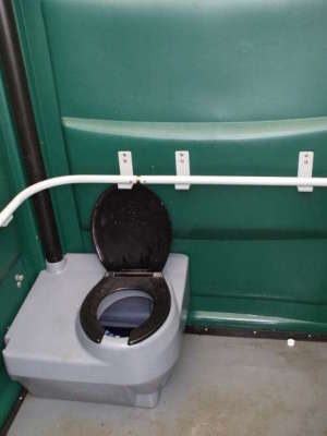 Doublewide portabletoilet , Washington, D.C.