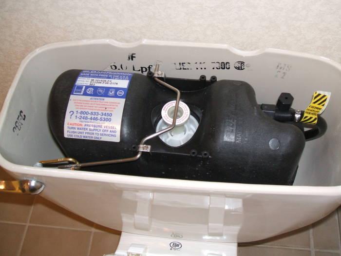 Pressure Flushing Toilets