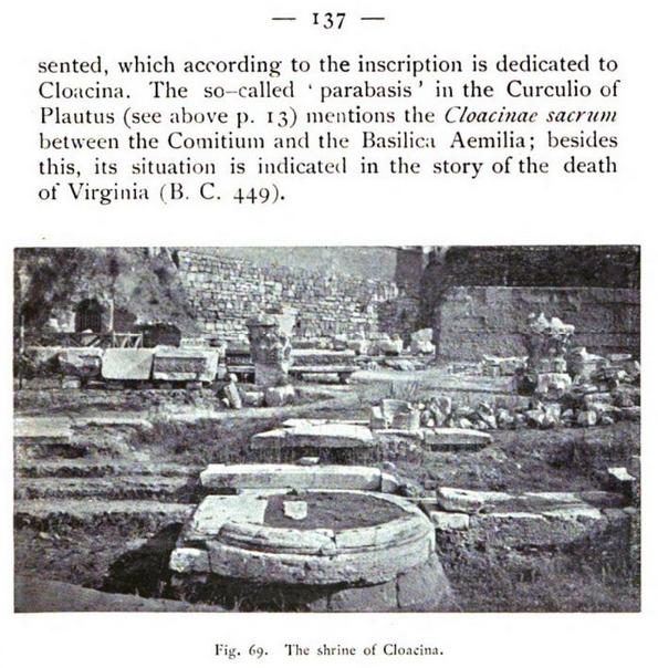 Page 137 of The Roman forum: its history and its monuments.