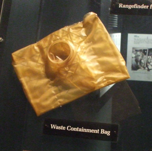 Waste containment bag from Mercury 3.