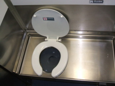 Amtrak toilet.