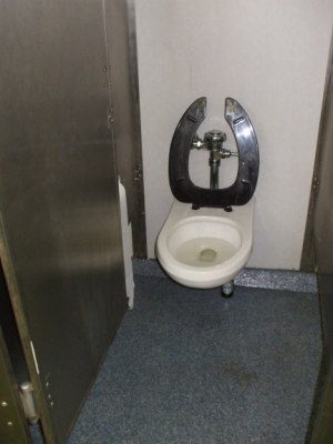 Staten Island Ferry on-board toilet.
