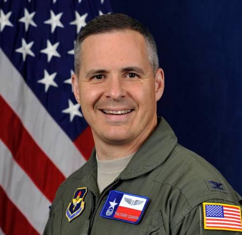 U.S. Air Force Colonel Thatcher Cardon, designer of the M-PATS or Maces Perineal Access & Toileting System space suit toilet system.