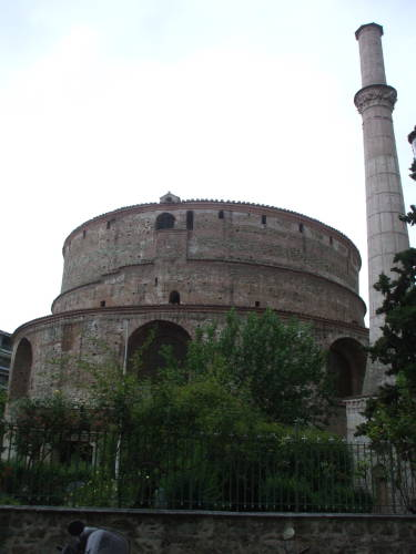 The Rotunda in Thessaloniki.