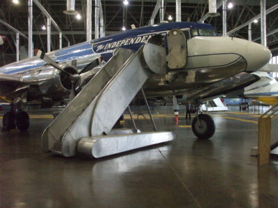 Harry S Truman's VC-118 / DC-6 airplane the 'Independence'.