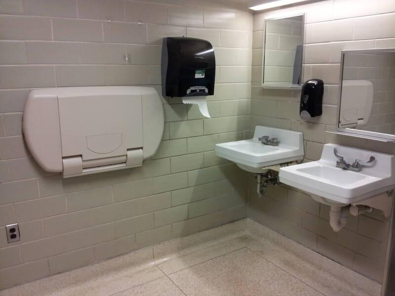 Gay Public Bathroom Tube