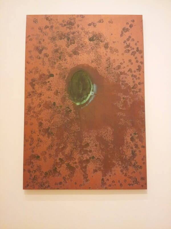 'Oxidation Painting', Andy Warhol, 1978.