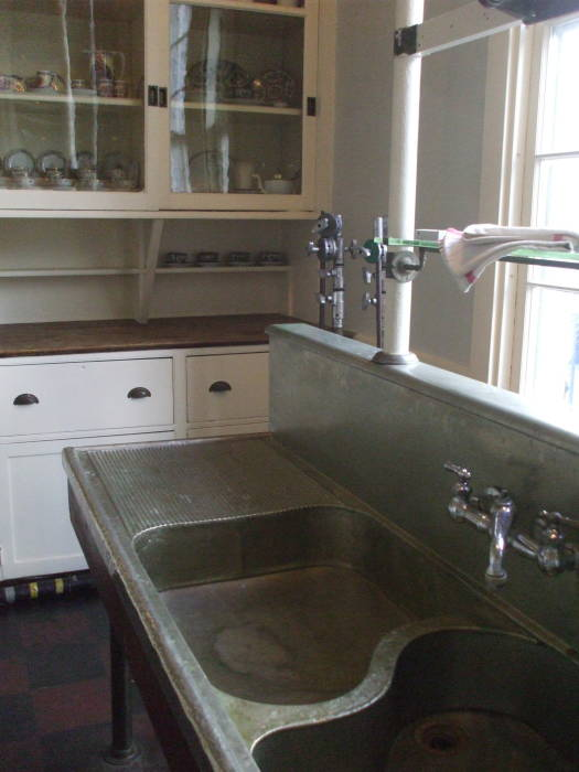 Woodrow Wilson's kitchen sink.
